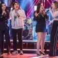 Maiara e Maraisa cantaram com Roberta Miranda e Sandy no 'Altas Horas'