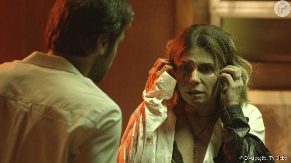 Em 'Segundo Sol', Luzia (Giovanna Antonelli) é condenada a seis anos de prisão pela morte de Remy (Vladimir Brichta)