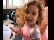Wesley Safadão mostra a filha, Ysis, fazendo bolo: 'De verdade'. Vídeo!