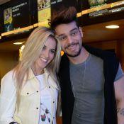 Lucas Lucco, do 'Dança dos Famosos', leva a mineira Lorena Carvalho ao cinema