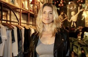 Leticia Spiller, no ar em 'Boogie Oogie', vai a evento de moda em shopping do RJ