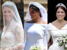 Looks de casamento de Eugenie, Meghan e Kate refletiram estilo das noivas. Veja!