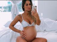 Mayra Cardi, com 9 meses, conta que a filha nasce até domingo: 'Escorpiana não'