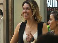 Casada com William Bonner, Natasha Dantas vai às compras e exibe aliança