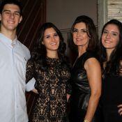 Fátima Bernardes festeja aniversário de 21 anos dos filhos trigêmeos: 'Amores'