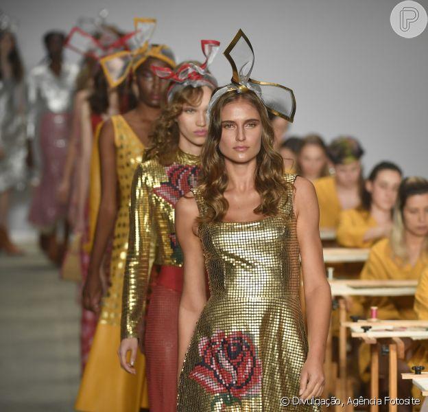 São Paulo Fashion Week começou em 21 de outubro de 2018 e traz as tendências para a próxima temporada. Feminilidade da nova geração na passarela de Patricia Viera
