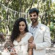 Anderson Tomazini e Giovanna Cordeiro foram shippados como casal fora da novela 'O Outro Lado do Paraíso', mas a atriz esclareceu ter sido só amizade com o ator na época