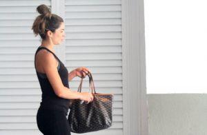 Grazi Massafera usa bolsa grifada de R$ 5 mil em academia após viagem ao Peru