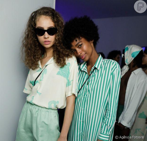 Bermuda nas passarelas do São Paulo Fashion Week: Cotton Project criou um modelo curtinho e delicado