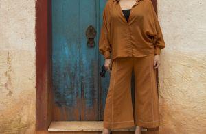 Macacão e cores fortes: os looks das famosas na coletiva de 'O Sétimo Guardião'