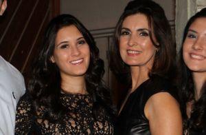 Filha de Fátima Bernardes minimiza separação dos pais: 'Os dois estão felizes'