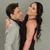 Zezé Di Camargo e Graciele Lacerda trocam beijos em ensaio fotográfico. Veja!