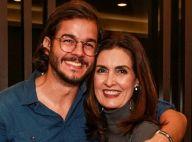 Túlio Gadêlha festeja 1º ano de namoro com Fátima Bernardes: 'Mais confiantes'