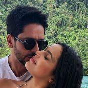 Emilly Araújo se declara ao namorado, Paulo Simões:'Amo daqui até depois do fim'