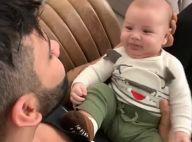 Sexta em família! Gusttavo Lima arranca sorrisos do filho caçula, Samuel. Vídeo!