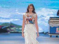 Camila Queiroz tem dia de modelo e mostra looks românticos para o verão 2019