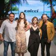 O Moda João Pessoa teve o lançamento da coleção de verão da Colcci, que convidou Camila Queiroz para desfilar