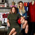 Giovanna Ewbank e a mãe, Deborah, trocam quando o assunto é moda: com formação em arquitetura, a stylist assina os looks da apresentadora