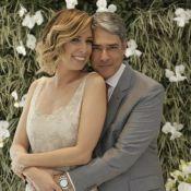 William Bonner se casa pela segunda vez com Natasha Dantas. Veja vídeo!