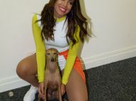 Anitta volta ao Brasil após 1 mês e mostra encontro com cachorros: 'Meus filhos'