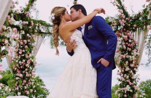 Romântico, fresh e clean: Thássia Naves elege vestido D&G para festa de noivado
