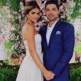 Thássia Naves e  Artur Attie oficializaram o noivado  na Fazenda Boa Vista, interior de São Paulo, neste sábado, 10 de novembro de 2018