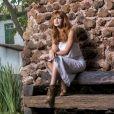 Luz (Marina Ruy Barbosa) comeou a ter visões no capítulo de estreia da novela 'O Sétimo Guardião'
