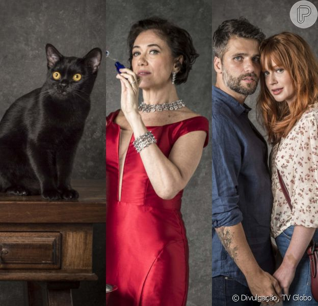 Estreia de 'O Sétimo Guardião': gato Leon, vilã e casal Luzbriel são destaques nesta segunda-feira, dia 12 de novembro de 2018