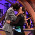 Juliana Paes surpreende Tatá Werneck com beijo no 'Lady Night' que será exibido na terça-feira, dia 13 de novembro de 2018