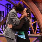 Juliana Paes surpreende Tatá Werneck com beijo: 'Que boca macia'. Veja!