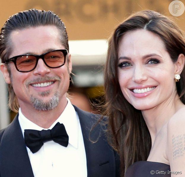 Angelina Jolie e Brad Pitt vendem fotos do casamento por US$ 2 milhões - R$ 4 milhões -, afirma jornal