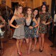 Famosos vão ao lançamento da nova coleção da estilista Patrícia Bonaldi em São Paulo