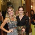 Quem também estava lá, ao lado de Giovanna Ewbank, foi Carol Celico, mulher de Kaká