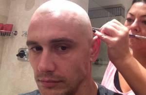 James Franco fica careca para personagem de seu novo filme, 'Zeroville'