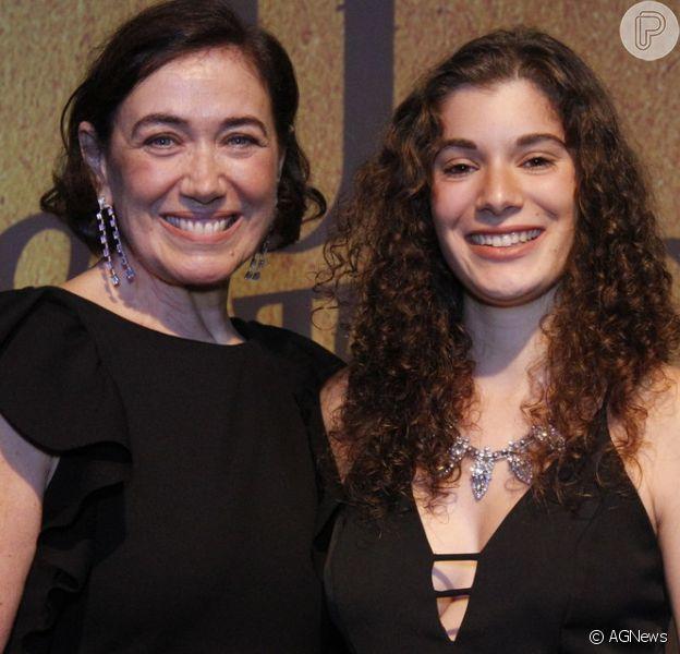 Giulia Bertolli fez testes para dividir o papel da vilã Valentina com a mãe, Lilia Cabral, na novela 'O Sétimo Guardião'