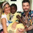 Giovanna Ewbank e Bruno Gagliasso se engajaram no combate ao racismo por causa da filha, Títi