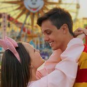 Leo Cidade devolve piada de seguidores em viagem na Disney com Larissa Manoela