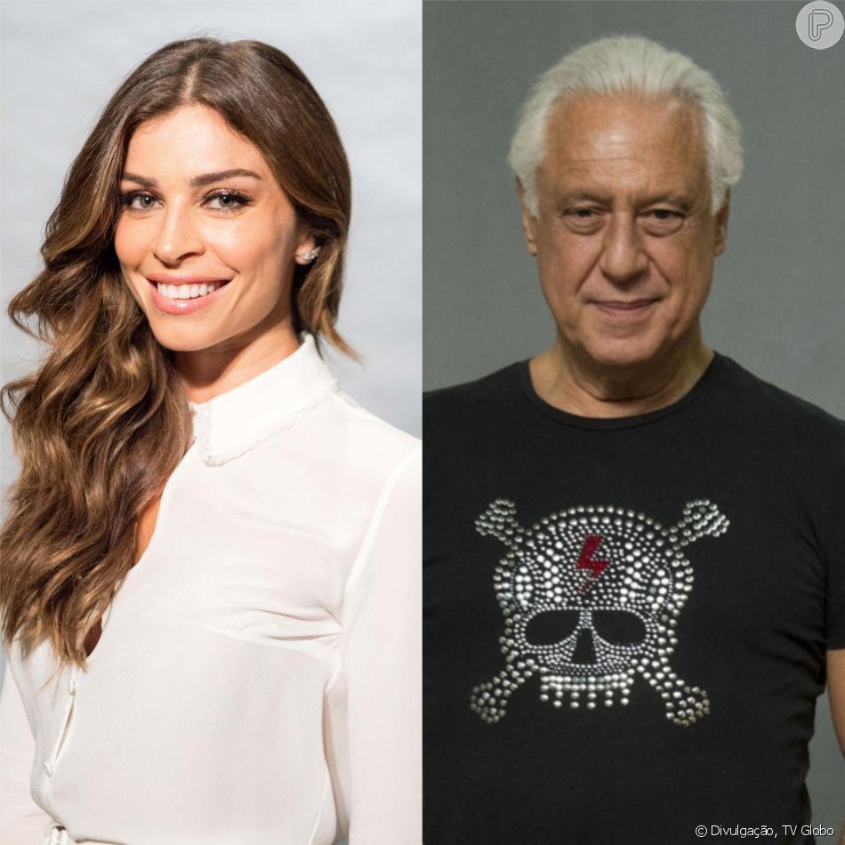 Grazi Massafera será passista de escola de samba e par romântico do personagem de Antonio Fagundes, que terá 80 anos, na novela 'Bom Sucesso', prevista para o segundo semestre de 2019 na faixa das sete