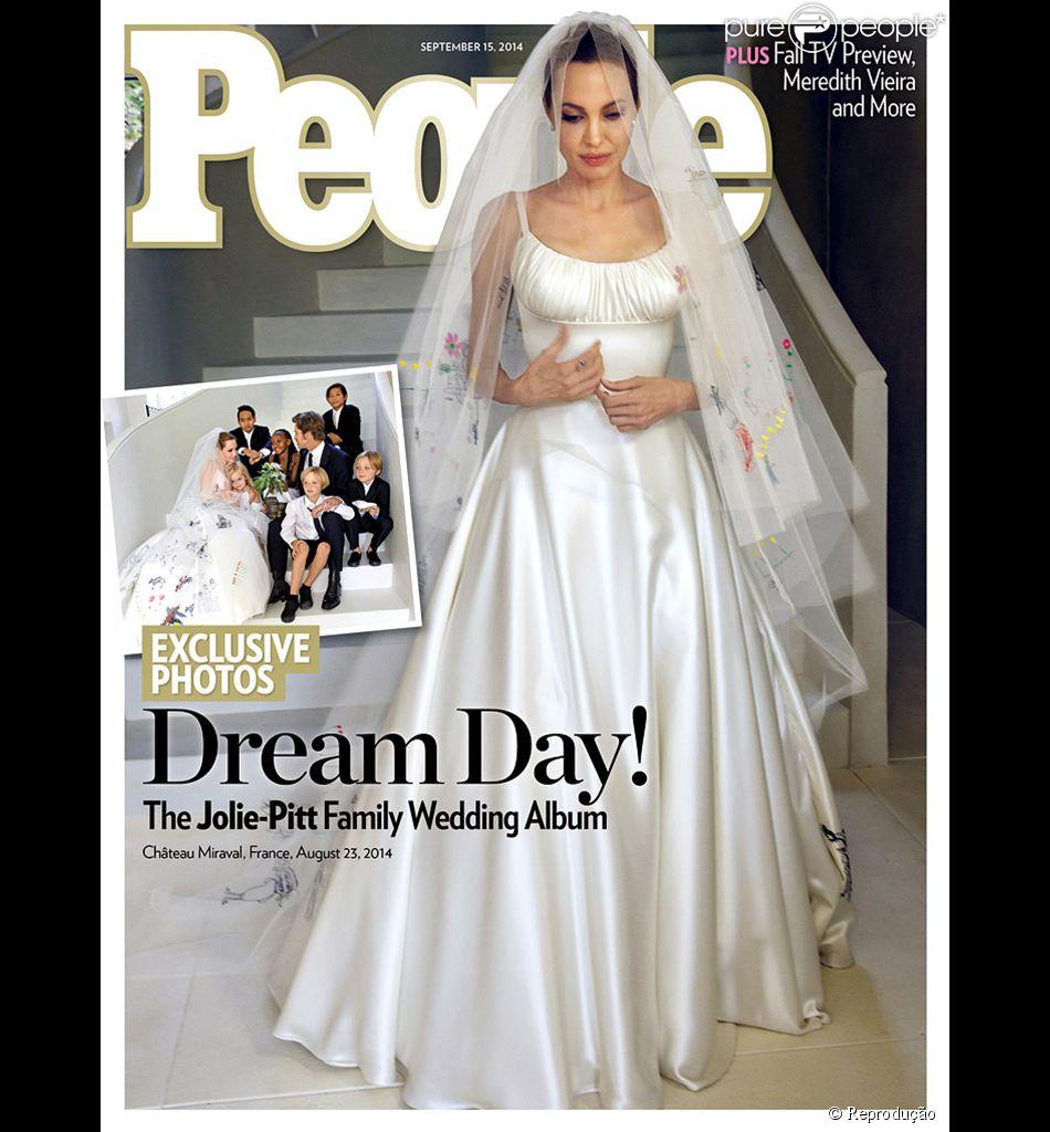 Brad Pitt e Angelina Jolie doam R$ 11 milhões da venda de fotos do casamento para própria instituição