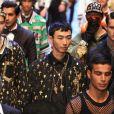 """""""Nosso sonho foi trazer um tributo pra Xangai dedicado à China que contaria nossa história e visão. Não era simplesmente um desfile, mas algo que criamos especialmente com amor e paixão para China e para todas as pessoas ao redor do mundo que amam Dolce & Gabbana"""", publicou a grife no Instagram"""