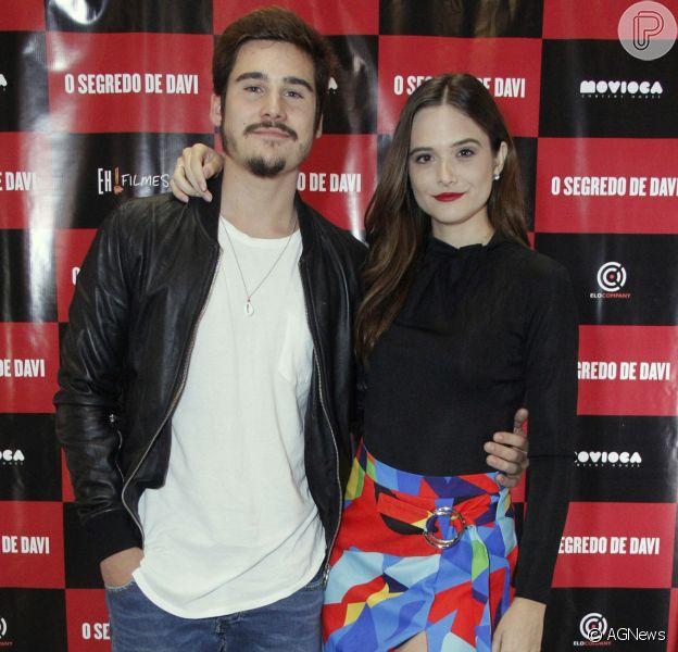 Nicolas Prattes lança o filme 'O Segredo de Davi', no Cinemark Downtown, na Barra da Tijuca, zona oeste do Rio de Janeiro, nesta quarta-feira, 21 de novembro de 2018