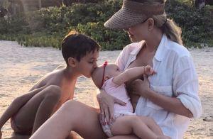 Eliana chega aos 45 anos como uma mãe fofa e dedicada. Veja momentos em família!