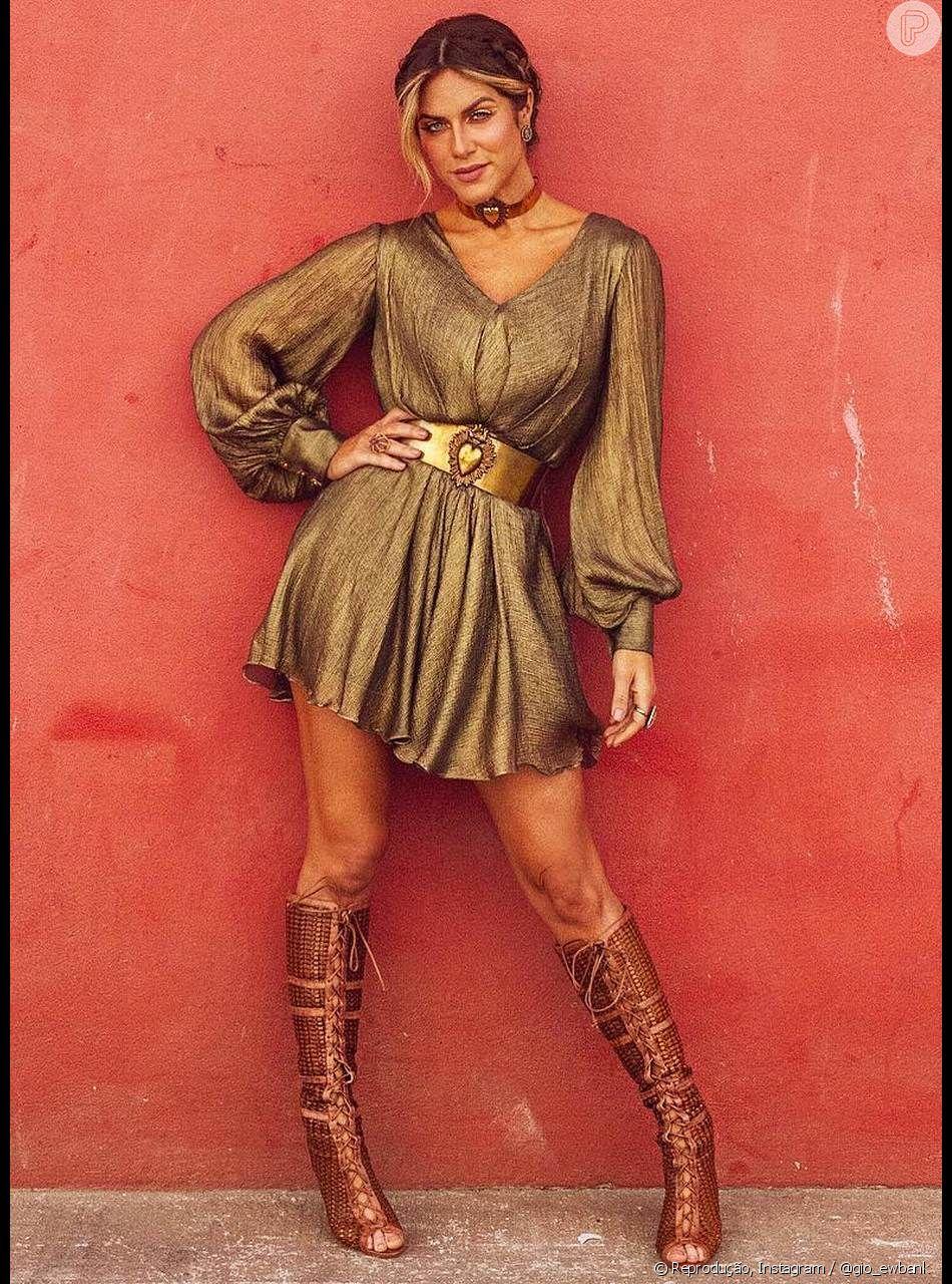 a5a45e771 O metalizado é uma das trends mais queridinhas de Giovanna Ewbank no  momento! 50 fotos