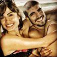 'Maria Casadevall e Caio Castro estavam como namorados mesmo, trocando abraços, beijos e carinhos', disse a fonte ao Purepeople