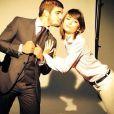 Caio Castro e Maria Csadevall posaram juntos para uma grife de roupas em maio de 2014. O ensaio foi publicado no dia dos namorados. Mais sugestivo impossível!