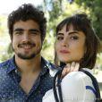 Enquanto isso, na pele de Michel e Patrícia, Caio Castro e Maria Casadevall continuavam dando um show de carisma na TV