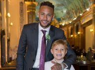Neymar vibra com drible do filho em 'futebol dentro casa': 'Canetinha'. Vídeo!