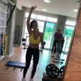 Adriana Sant'Anna exibiu boa forma após duas gestações