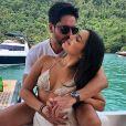 A campeã do 'BBB' 2017, Emilly Araújo, está namorando o empresário Paulo Simões há aproximadamente um mês
