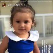 Yanna Lavigne derrete-se ao filmar Madalena com biquíni de princesa: 'Aguento?'